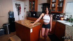 Aubree Wakes up BF's Roommate - Shafted POV - HD