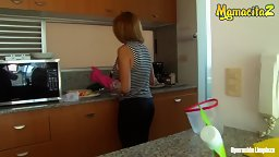 Cleaning Lady Cleans Your Cock 2 - HD